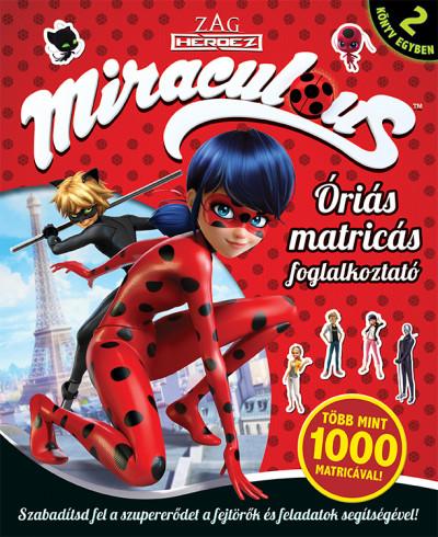 - Miraculous - Óriás matricás foglalkoztató
