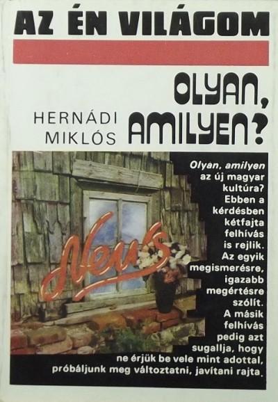 Hernádi Miklós - Olyan, amilyen?
