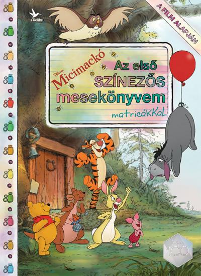 - Disney - Micimackó - Az első színezős mesekönyvem matricákkal