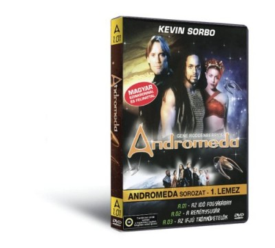 - Andromeda 1. - DVD