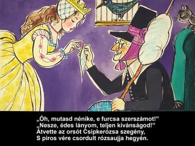 Grimm Testvérek - Csipkerózsika - Diafilm