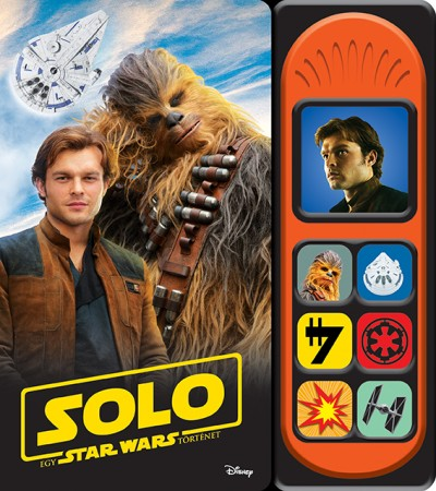 Harmos Noémi  (Szerk.) - Star Wars - Solo - Hangmodulos könyv