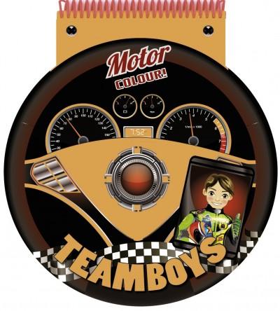 - Teamboys - Stencil - Motor- Colour!