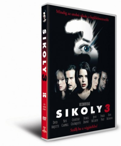 Wes Craven - Sikoly 3. - DVD