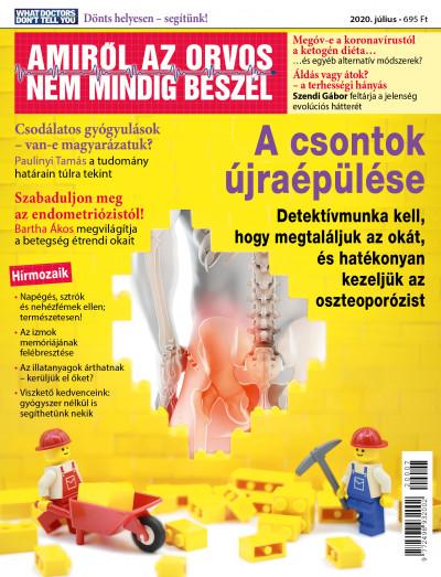 Molnár Gabriella  (Szerk.) - Amiről az orvos nem mindig beszél - 2020. július