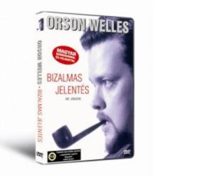 Orson Welles - Bizalmas jelentés - DVD