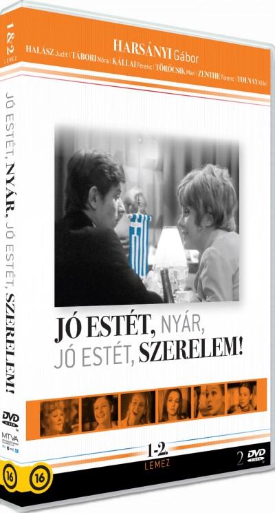 Szőnyi G. Sándor - Jó estét nyár, jó estét szerelem! (Dupla lemezes változat) - DVD