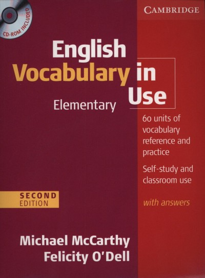 Michael Mccarthy - Felicity O'Dell - English Vocabulary in Use - Elementary