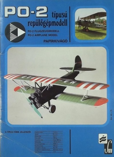 - PO-2 típusú repülőgépmodell