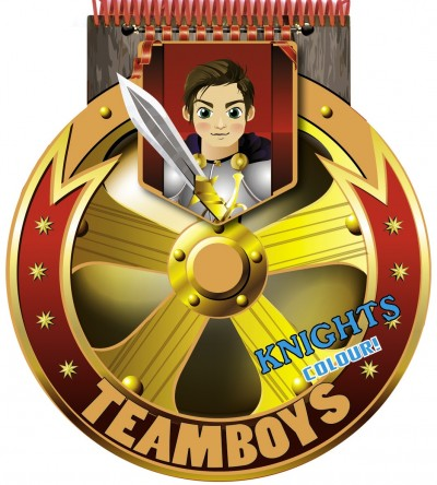 - Teamboys - Stencil - Knights - Colour!