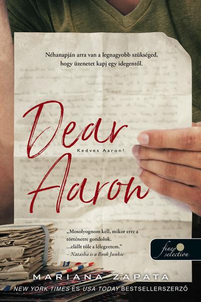 Könyv: Dear Aaron - Kedves Aaron! (Mariana Zapata)