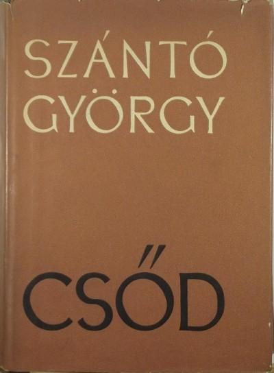 Szántó György - Csőd