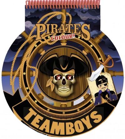 - Teamboys - Stencil - Pirates - Colour!