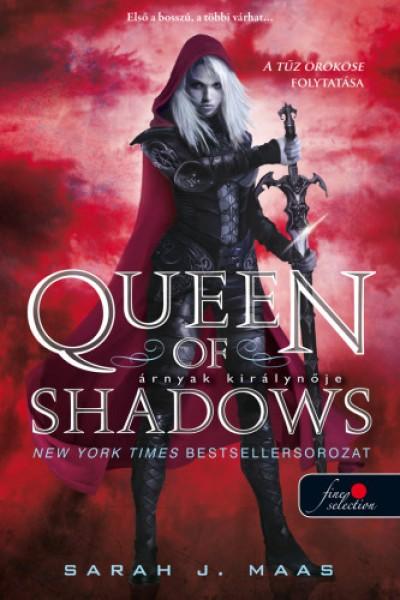 Sarah J. Maas - Queen of Shadows - Árnyak királynője (Üvegtrón 4.) - puha kötés