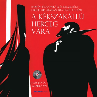 László Noémi - A kékszakállú herceg vára - CD melléklettel