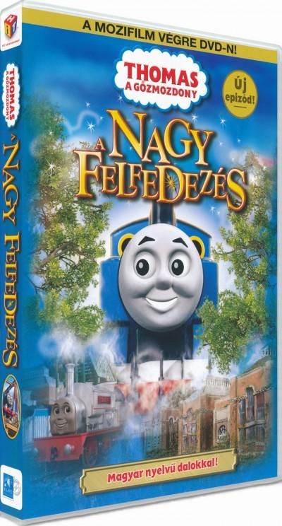 - Thomas: A nagy felfedezés - DVD