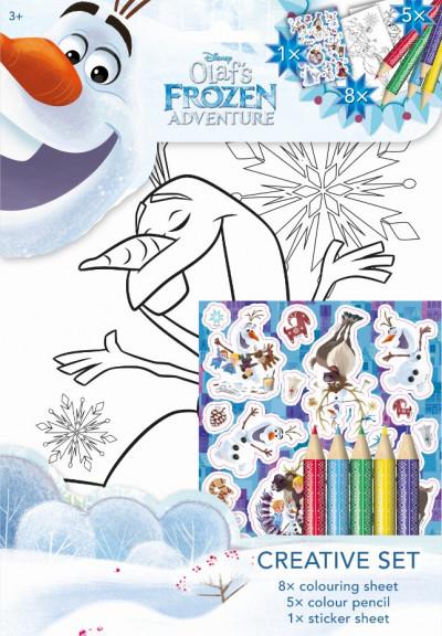 - Olaf - Színező készlet