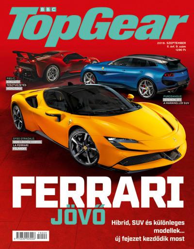 - BBC TopGear II. évfolyam 9. szám - 2019. szeptember - autós magazin