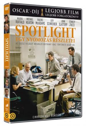 - Spotlight: Egy nyomoz�s r�szletei - DVD