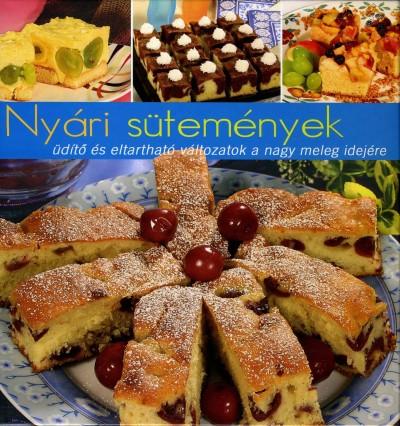 Jámbor Mariann  (Szerk.) - Nyári sütemények