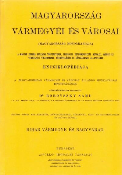 Dr. Borovszky Samu - Magyarország vármegyéi és városai