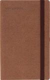 - Zen - Barna notebook B/6 keskeny�tett