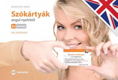 Haavisto Kirsi - Szókártyák angol nyelvből B2 szinten