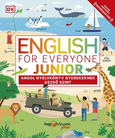Thomas Booth - Ben Ffrancon Davies - English for Everyone Junior: Angol nyelvkönyv gyerekeknek - Kezdő szint