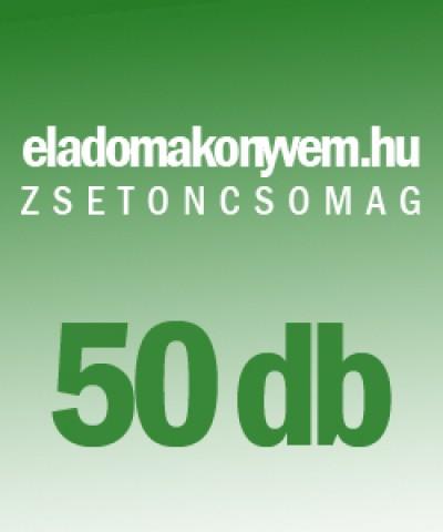 - Eladomakonyvem.hu - zsetoncsomag 50 db