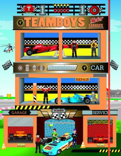 - Teamboys - House- Motor- Garages