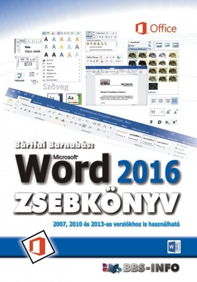 Bártfai Barnabás - Word 2016 zsebkönyv