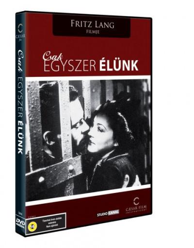 Fritz Lang - Csak egyszer élünk - DVD
