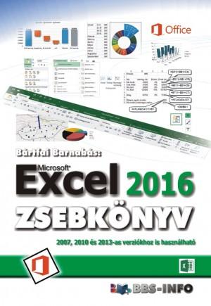 B�rtfai Barnab�s - Excel 2016 zsebk�nyv