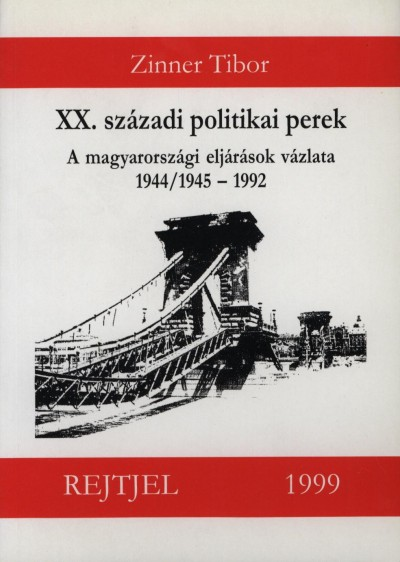 Zinner Tibor - XX. századi politikai perek