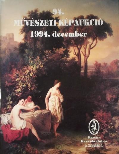 - 94. művészeti képaukció kiállítás és árverés
