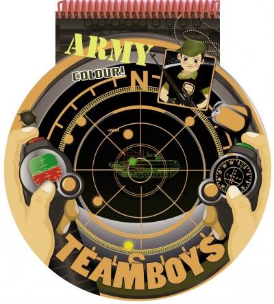 - Teamboys - Stencil - Army - Colour!