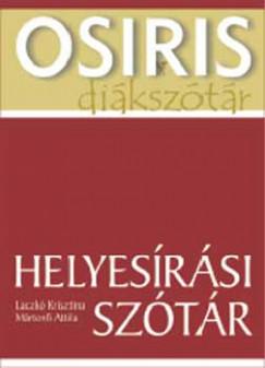 HELYESÍRÁSI SZÓTÁR - OSIRIS DIÁKSZÓTÁR -