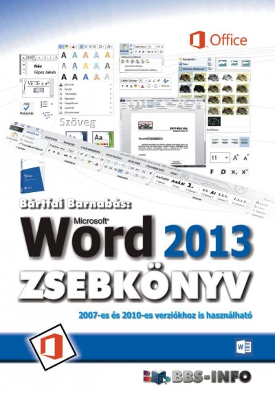 Bártfai Barnabás - Word 2013 zsebkönyv