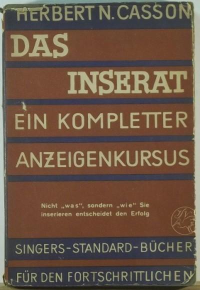 Herbert N. Casson - Das Inserat