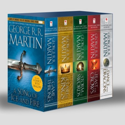 George R. R. Martin - Game of Thrones 5 - Copy Boxed Set