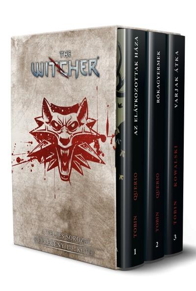 Paul Tobin - The Witcher: Képregény 1-3. kötet - díszdobozban