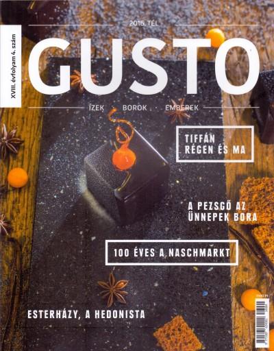 Kling József  (Szerk.) - Gusto Magazin 2016. Tél