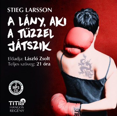Stieg Larsson - László Zsolt - A lány, aki a tűzzel játszik - Hangoskönyv 2CD