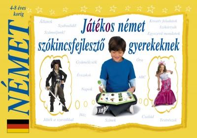 Simon Adrienn - Játékos német szókincsfejlesztő gyerekeknek