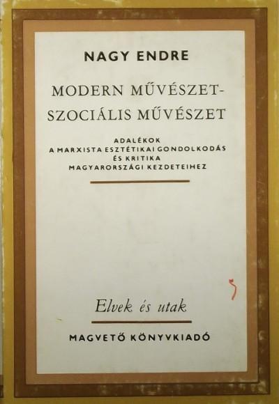 Nagy Endre - Modern művészet - Szociális művészet