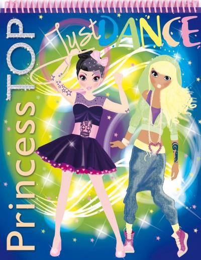 - Princess TOP - Just dance (blue)