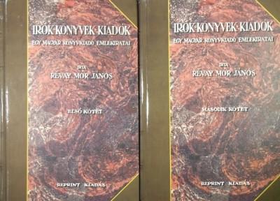 Révay Mór János - Írók, könyvek, kiadók I-II.