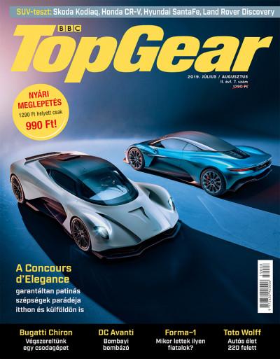 - BBC TopGear II. évfolyam 7-8. szám - 2019. július - augusztus - autós magazin