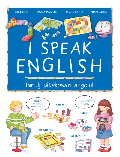 - I speak English