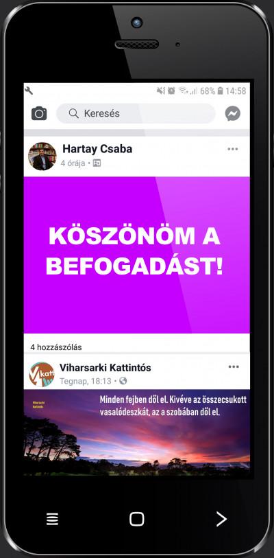 Hartay Csaba - Köszönöm a befogadást!